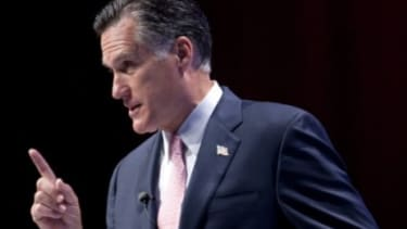 """""""Obamacare is bad law constitutionally, bad policy, and it is bad for America's families,"""" said Mitt Romney Saturday to New Hampshire Republicans."""