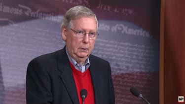 Mitch McConnell backs congressional investigation into Russian hacking
