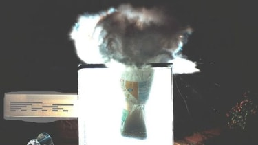 Dry ice bomb