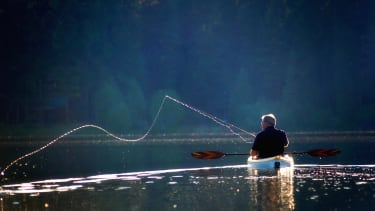 Going fishing.