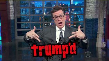 Stephen Colbert on James Comey firing