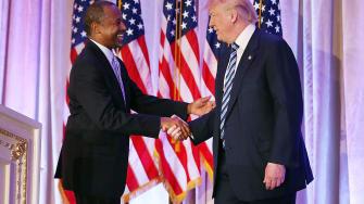 Donald Trump and Ben Carson.