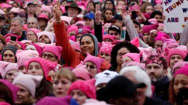 The Women's March on Washington.