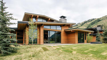 A home in Wyoming.