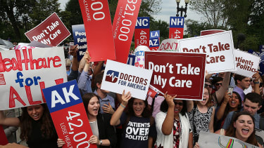 Obamacare approval is at an all-time high, but Republicans are determined to repeal it.