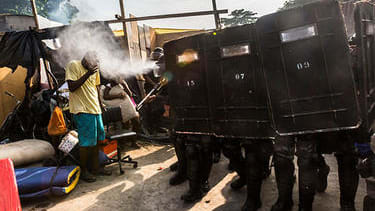 Photos: Brazilian police evict 5,000 squatters