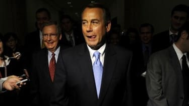 House Speaker John Boehner (R-Ohio) is showing some shrewd negotiating skills, says E.J. Dionne in The Washington Post, by demanding spending cuts that far exceed what the GOP could hope to g