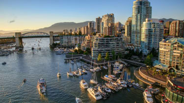 The Vancouver skyline has a new tower, but it might not be as tall as it says it is.