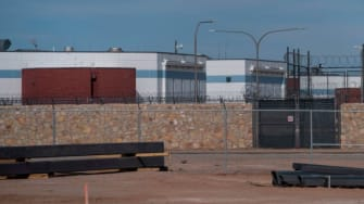 ICE processing center.
