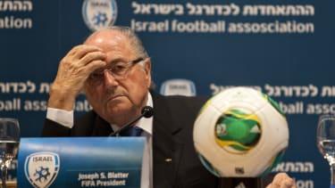 Fifa head Sepp Blatter in 2013