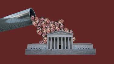 Kavanaughs and Gorsuches pour out of a pipeline into the courts.