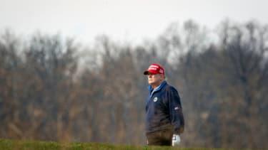 Trump golfs, mid-December 2020
