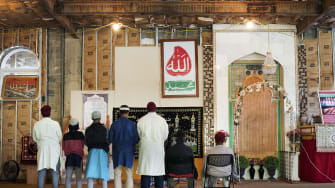The mosque in Islamberg.