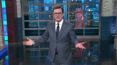 Stephen Colbert on Trump and Russia, again