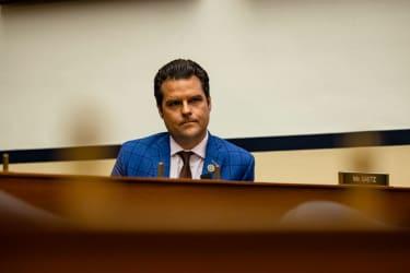 Rep. Matt Gaetz.