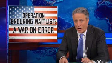 Jon Stewart angrily slams the Obama administration over VA hospital malfeasance