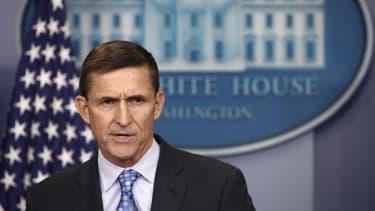 Michael Flynn has had his eyes set on Iran.