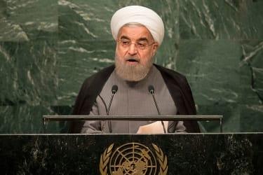President of Iran Hassan Rouhani.