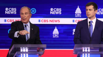 Mike Bloomberg and Pete Buttigieg.