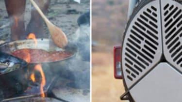 The spare-tire grill