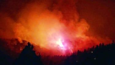Wildfire in Colorado