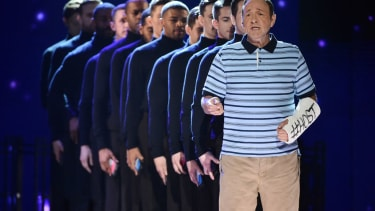 Kevin Spacey hosts the Tonys