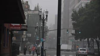 Portland in the smoke