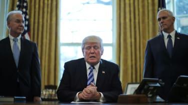 Trump's lead trial balloon?