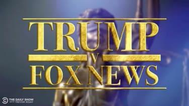 The Daily Show dramatizes Trump-Fox News divorce