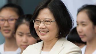 Taiwan's new president, Tsai Ing-wen.