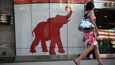 A Republican elephant.