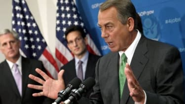 Boehner is caught between warring factions of his party.