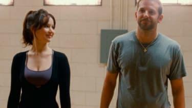 "Bradley Cooper in the ""Silver Linings Playbook"""