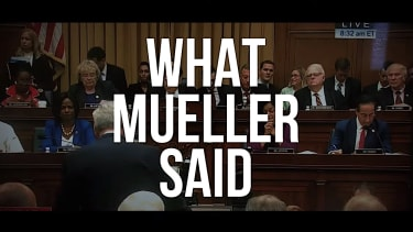 A new ad uses Mueller's testimony