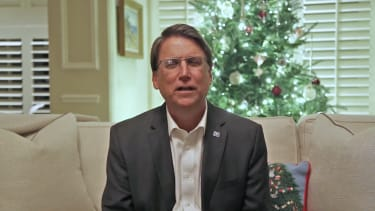 North Carolina's Governor Pat McCrory concedes the election.