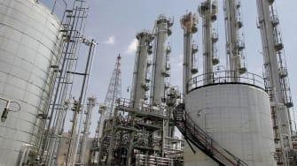 Arak heavy water reactor in Iran