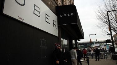 Uber headquarters in Queens, New York.