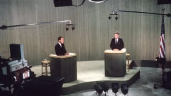 In 1960, Sen. John F. Kennedy challenged Vice President Richard Nixon to a televised debate — the first of its kind, and now an enduring campaign tradition.