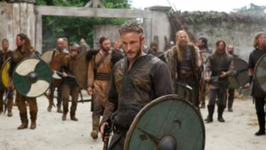 Ragnar, played by Travis Fimmel stars in Hirst's latest series.