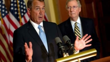 House Speaker John Boehner (R-Ohio) and Senate Minority Leader Mitch McConnell (R-Ky.) may not be eager to answer questions about whether RomneyCare's individual mandate is effectively a tax,