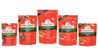 Stella & Chewy's dog food.