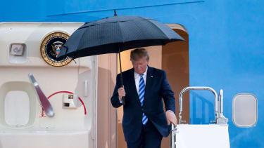 Trump arrives in Osaka, Japan