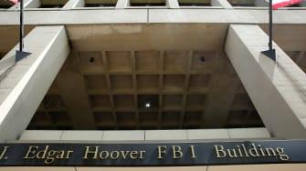 The J. Edgar Hoover FBI Building.