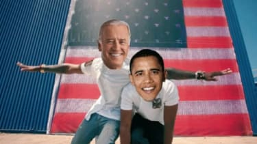 Obama and Biden in a GIF