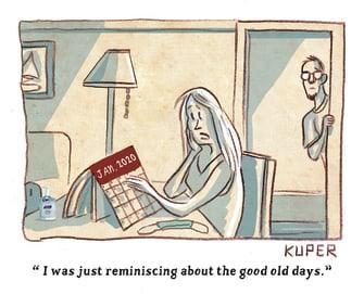 Editorial Cartoon U.S. January 2020 Good Old Days