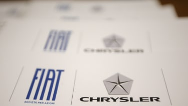 The Fiat and Chrysler logos