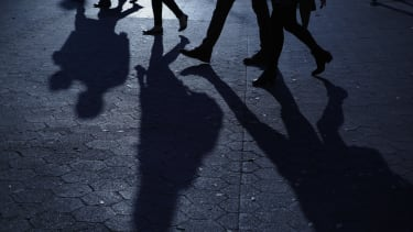 Walking shadows.