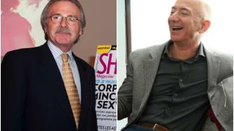 David Pecker and Jeff Bezos