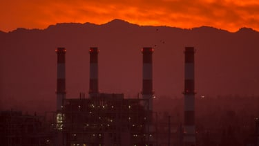 A power plant in California.