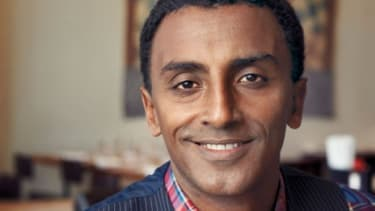 Marcus Samuelsson's memoir, Yes, Chef, is his tale of being orphaned in Ethiopia and raised in Sweden, and of the path he took through some of Europe's most cutthroat kitchens to become a cel